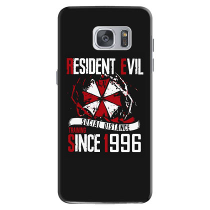 Social Distance Samsung Galaxy S7 Case Designed By Pinkanzee