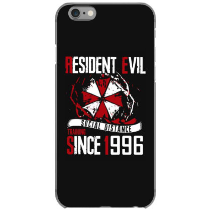 Social Distance Iphone 6/6s Case Designed By Pinkanzee