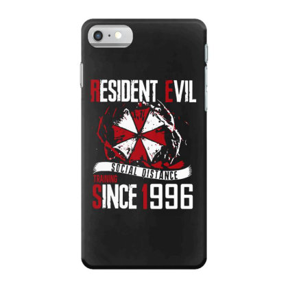 Social Distance Iphone 7 Case Designed By Pinkanzee