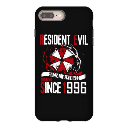 Social Distance Iphone 8 Plus Case Designed By Pinkanzee
