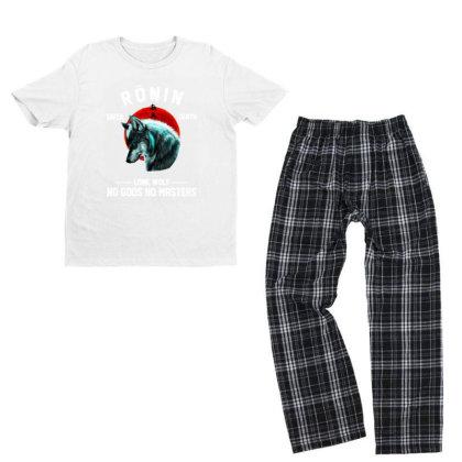 No Gods No Masters Youth T-shirt Pajama Set Designed By Pinkanzee