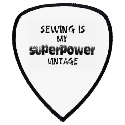 Superpower Vintage Shield S Patch Designed By Pinkanzee