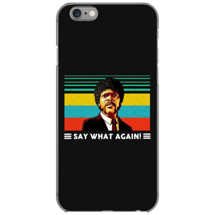 Say What Vintage Iphone 6/6s Case Designed By Pinkanzee