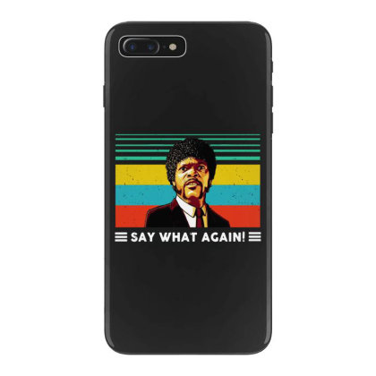 Say What Vintage Iphone 7 Plus Case Designed By Pinkanzee