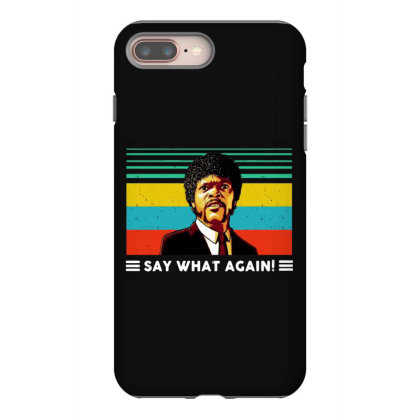 Say What Vintage Iphone 8 Plus Case Designed By Pinkanzee