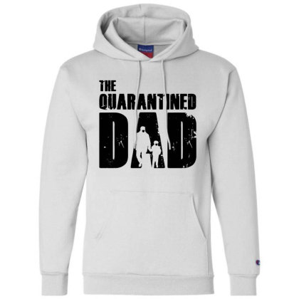 The Quarantined Champion Hoodie Designed By Pinkanzee