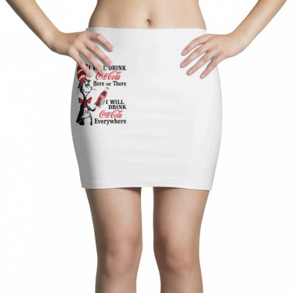 The Cat Drink Cola Mini Skirts Designed By Pinkanzee