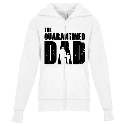 The Quarantined Youth Zipper Hoodie Designed By Pinkanzee