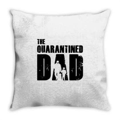 The Quarantined Throw Pillow Designed By Pinkanzee