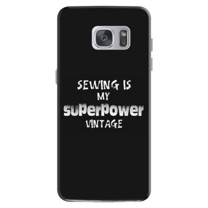 Superpower Vintage Samsung Galaxy S7 Case Designed By Pinkanzee