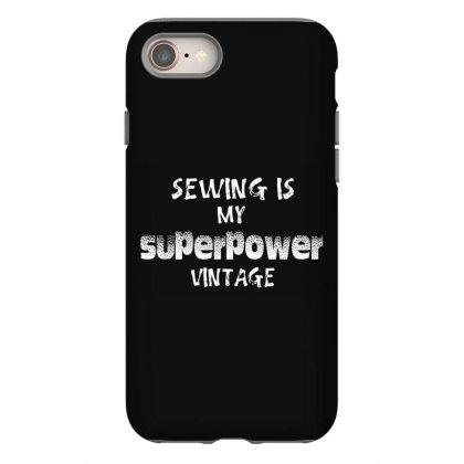 Superpower Vintage Iphone 8 Case Designed By Pinkanzee