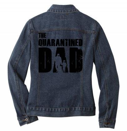 The Quarantined Ladies Denim Jacket Designed By Pinkanzee