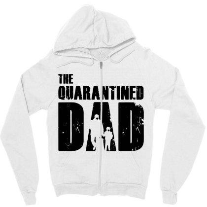 The Quarantined Zipper Hoodie Designed By Pinkanzee