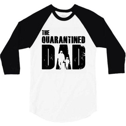 The Quarantined 3/4 Sleeve Shirt Designed By Pinkanzee