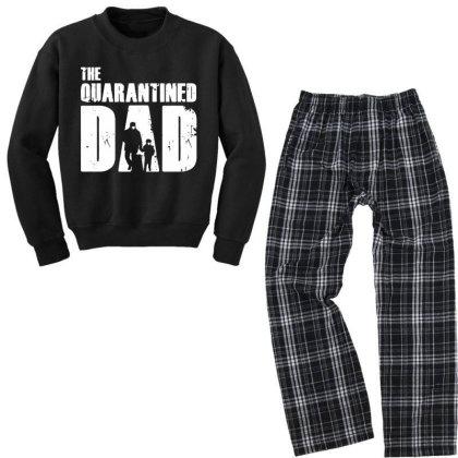 The Quarantined Vintage Youth Sweatshirt Pajama Set Designed By Pinkanzee