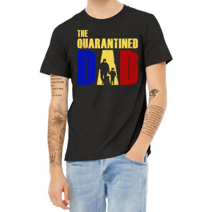 The Quarantined Quotes Heather T-shirt Designed By Pinkanzee