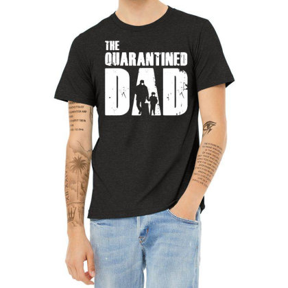 The Quarantined Vintage Heather T-shirt Designed By Pinkanzee