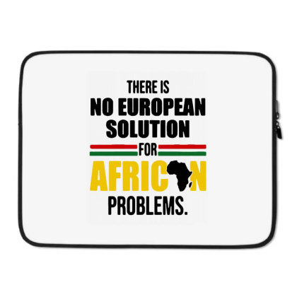 No Solution For African Laptop Sleeve Designed By Pinkanzee