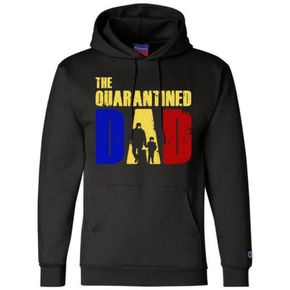 The Quarantined Quotes Champion Hoodie Designed By Pinkanzee