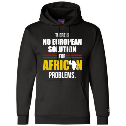 No  Solution For African Champion Hoodie Designed By Pinkanzee