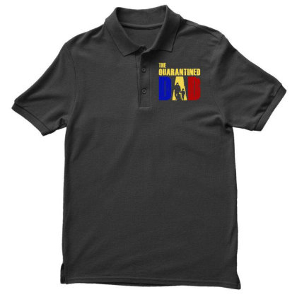 The Quarantined Quotes Men's Polo Shirt Designed By Pinkanzee