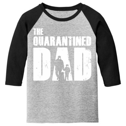 The Quarantined Vintage Youth 3/4 Sleeve Designed By Pinkanzee