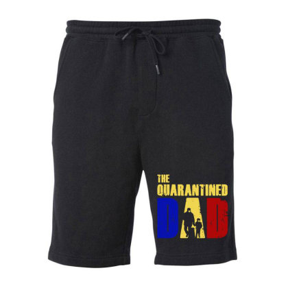 The Quarantined Quotes Fleece Short Designed By Pinkanzee