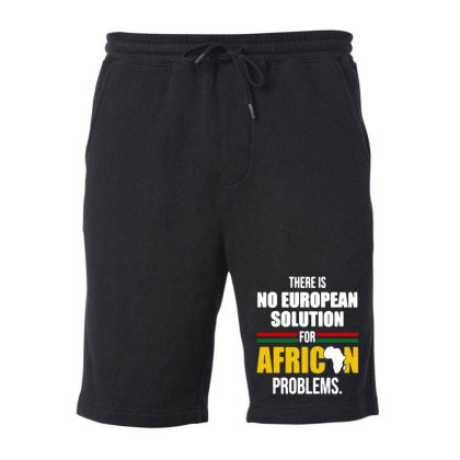 No  Solution For African Fleece Short Designed By Pinkanzee