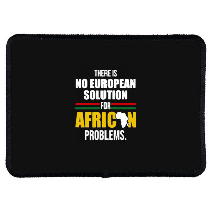 No  Solution For African Rectangle Patch Designed By Pinkanzee