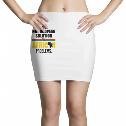 No Solution For African Mini Skirts Designed By Pinkanzee