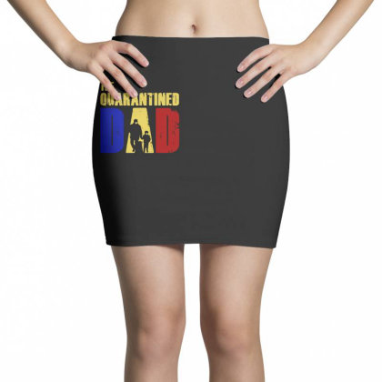 The Quarantined Quotes Mini Skirts Designed By Pinkanzee
