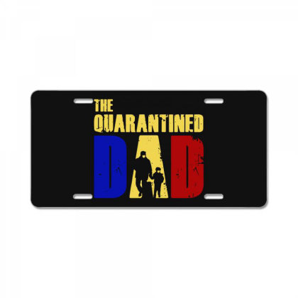 The Quarantined Quotes License Plate Designed By Pinkanzee
