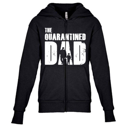 The Quarantined Vintage Youth Zipper Hoodie Designed By Pinkanzee
