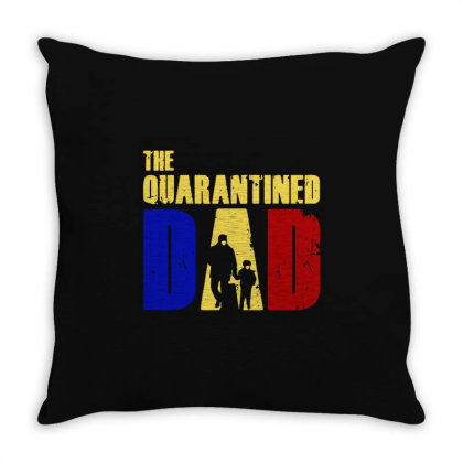 The Quarantined Quotes Throw Pillow Designed By Pinkanzee