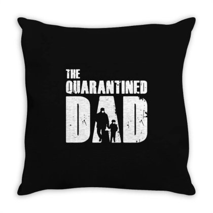 The Quarantined Vintage Throw Pillow Designed By Pinkanzee