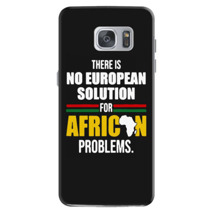 No  Solution For African Samsung Galaxy S7 Case Designed By Pinkanzee