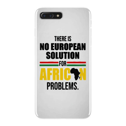 No Solution For African Iphone 7 Plus Case Designed By Pinkanzee