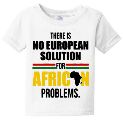No Solution For African Baby Tee Designed By Pinkanzee