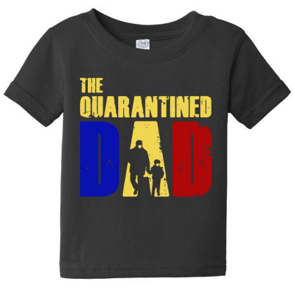 The Quarantined Quotes Baby Tee Designed By Pinkanzee