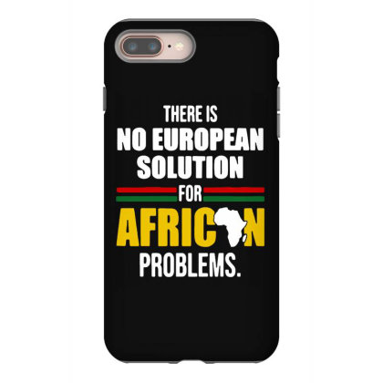 No  Solution For African Iphone 8 Plus Case Designed By Pinkanzee