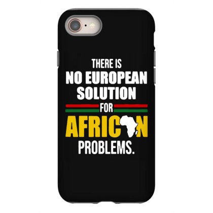No  Solution For African Iphone 8 Case Designed By Pinkanzee