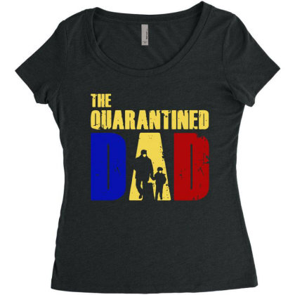 The Quarantined Quotes Women's Triblend Scoop T-shirt Designed By Pinkanzee