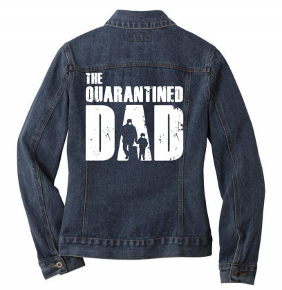 The Quarantined Vintage Ladies Denim Jacket Designed By Pinkanzee