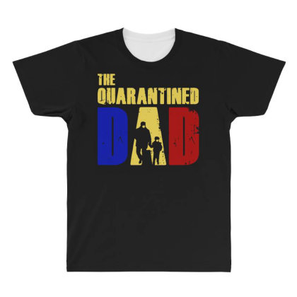 The Quarantined Quotes All Over Men's T-shirt Designed By Pinkanzee