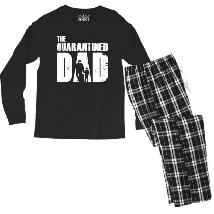 The Quarantined Vintage Men's Long Sleeve Pajama Set Designed By Pinkanzee