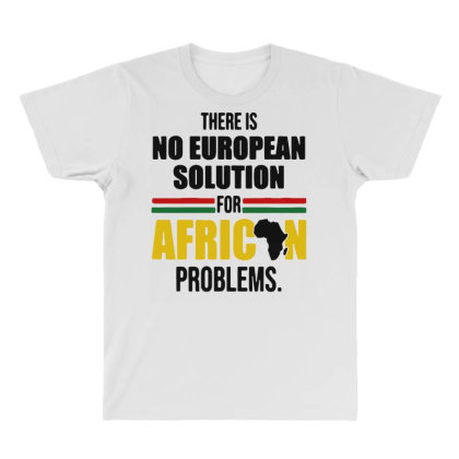 No Solution For African All Over Men's T-shirt Designed By Pinkanzee