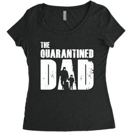 The Quarantined Vintage Women's Triblend Scoop T-shirt Designed By Pinkanzee