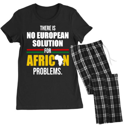 No  Solution For African Women's Pajamas Set Designed By Pinkanzee