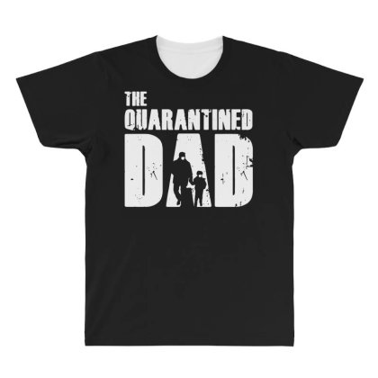 The Quarantined Vintage All Over Men's T-shirt Designed By Pinkanzee