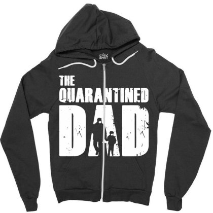 The Quarantined Vintage Zipper Hoodie Designed By Pinkanzee